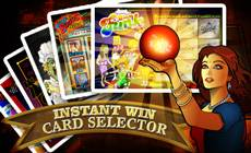 Instant Win Card Selector<
